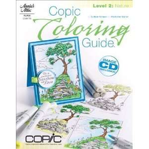 Coloring Guide Level 2 Nature [Paperback] Colleen Schaan Books