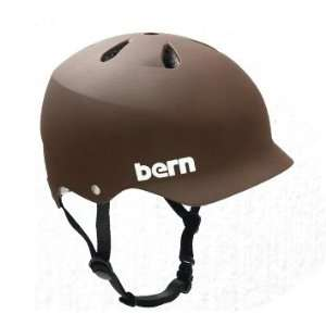 Bern Watts Hard Hat Helmet   Medium   Summer Matte Brown