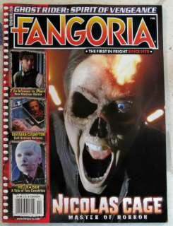 FANGORIA Ghost Rider NICOLAS CAGE Master Of Horror # 310 HELLRAISER