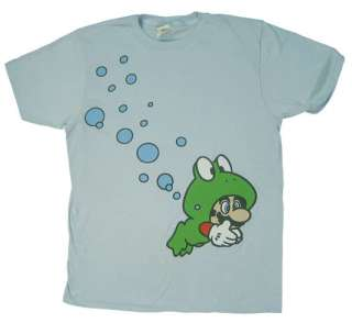 Mario Frog Suit   Mario   Nintendo Sheer T shirt