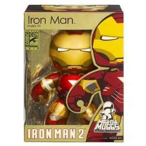 Diego ComicCon Exclusive Mighty Muggs Figure Iron Man Toys & Games