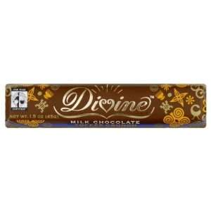 Divine Chocolate, Milk Toffee Crunch, 1.50 OZ (Pack of 30):