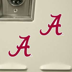 Alabama Crimson Tide 6 Pack Stik able Party Decals  Sports