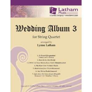 Wedding Album 3 for String Quartet (String Ensembles, String Quartet