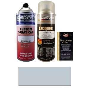 12.5 Oz. Salmon Silver Metallic Spray Can Paint Kit for 1987 BMW 535