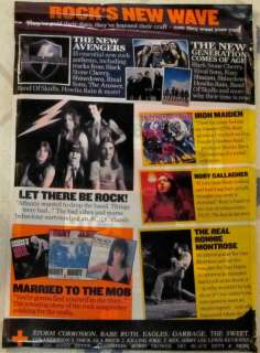 CD May 2012 AC DC Let There Be Rock IRON MAIDEN Ronnie Montrose