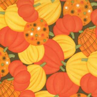 PUMPKINS Pumpkins Gone Wild MODA FQs or YARDAGE