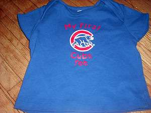 Chicago Cubs Baby Kids First T Shirt 18 Mos Nice Infant