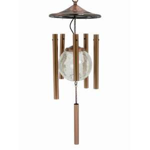 Copper Solar Wind Chime Case Pack 6