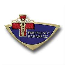 Emergency Paramedic EMT EMS Insignia Lapel Pin 945 New
