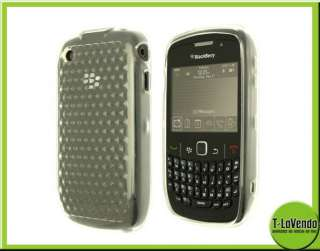 PARA BLACKBERRY CURVE 8520 9300 COLORES CARCASA GOMA COVER CASE