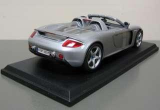 Porsche Carrera GT Diecast Model Car   Maisto   118 Scale   New in