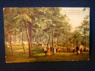Big Island Park Lake Minnetonka Mn. 1908 postcard