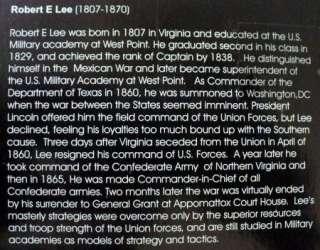 ELITE COMMAND 4 DIE CAST SOLDIERS GEN ROBERT E. LEE