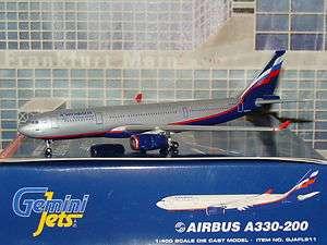 Gemini Jets Aeroflot Airbus A330 200 GJAFL911 1/400 **Free S&H