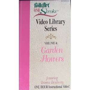 Library Series Volume 4: Garden Flower: Donna Dewberry: Movies & TV