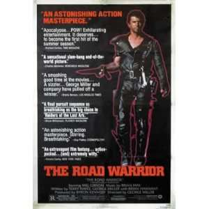 MAD MAX II   THE ROAD WARRIOR   Movie Poster: Home & Kitchen