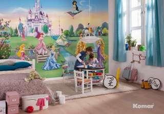 Fototapete Kindertapete PRINCESS CASTLE 368x254 süsse Komar Disney