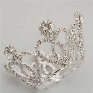 Wedding Bridal Heartl Style Rhinestone Crown Tiara Tiara Wedding Hair