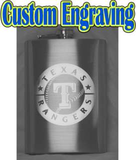 Hip Flask   Your Text/Logo Custom Engraved   Gift, Weddings