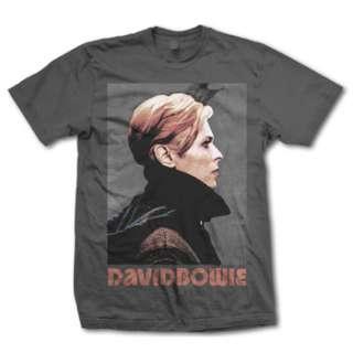 DAVID BOWIE LOW PROFILE ADULT TEE SHIRT S M L XL