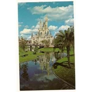 Walt Disney World Magic Kingdom Cinderella Castle 3x5 Postcard 0110