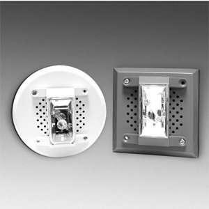 GE Security 13 487 Red, Square, Fire Alarm Speaker Strobe
