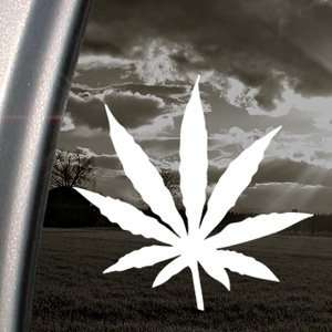 MARIJUANA Decal WEED DOPE POT STONER Window Sticker