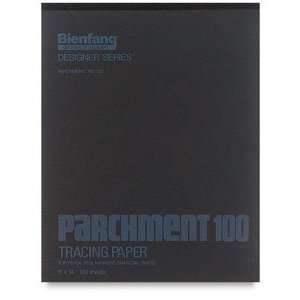Parchment 100 Fine Tracing Paper   9 x 12, Tracing Paper, 100 Sheet