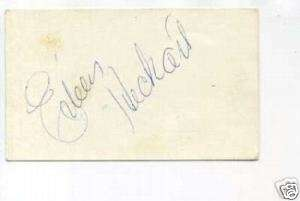 Eileen Heckart The Bad Seed Bus Stop Signed Autograph