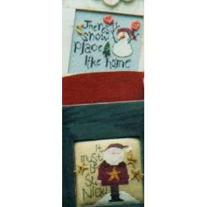It Must Be St. Nick (Cross Stitch): Sisters and Best Friends: