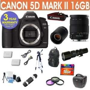 Canon EOS 5D MARK II + Sigma 18 200mm F3.5 6.3 DC OS Lens