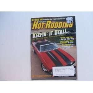 Popular Hot Rodding November 2003 (REAL ROADS, REAL RIDES NO TRAILER