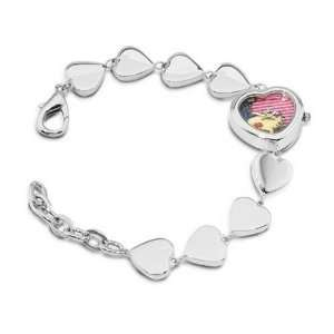 Snoopy by Everhart Bird Lips Pink Wig Bracelet Watches