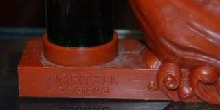 Vintage MARTELL VSOP Cognac miniature bottle display brown color
