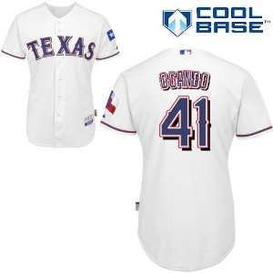Alexi Ogando Texas Rangers Authentic Home Cool Base Jersey
