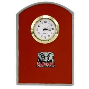 Alabama Crimson Tide Mini Arch Clock