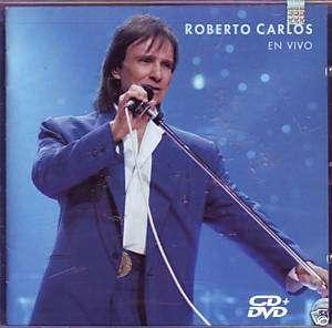 Roberto Carlos   En Vivo   CD + DVD