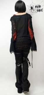 Visual kei fashion cool punk nana lolita shirt top