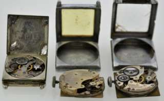 Deco Square Gold Filled Mens Watch For Repair Leon Levy Times