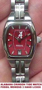 Alabama Crimson Tide All Star SS Mens Watch with Date 634401655349