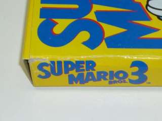 Super Mario 3 Complete In Box Nintendo Nes Game 045496630584