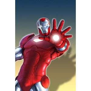 Marvel Adventures Iron Man #11 Cover Iron Man , 48x72