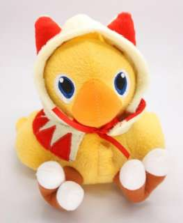 Final Fantasy VII White Mage CHOCOBO Stuffed Plush Toy 7 NEW