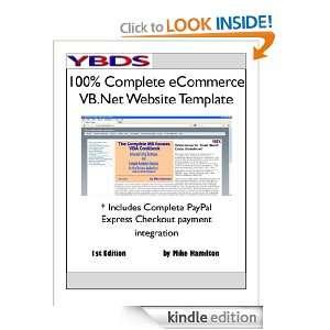 100% Complete eCommerce VB.Net Website Template Michael Hamilton