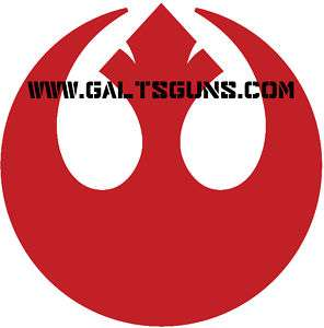 Star Wars Rebel Alliance Logo Decal Many Colors & Sizes