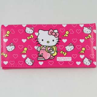 New Cute Fashion HelloKitty Birds Girls Wallet Clutch Card Bag Purse
