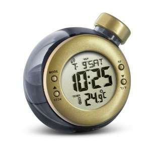 WiKi Water Powered RCC Clock With Temperature   Gold Water