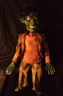 Zombie Horror Goth Halloween Ventriloquist Dummy Doll Puppet Skeleton