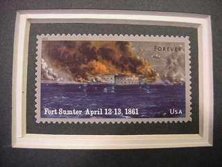 Civil War Bullet Gift Set / Commem. Stamp Fort Sumter